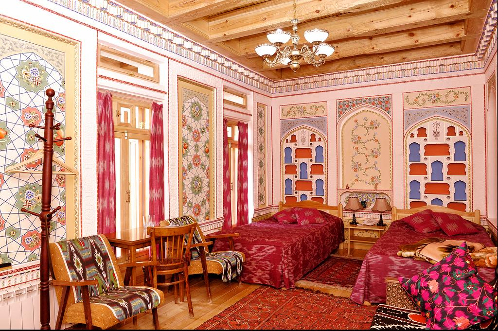Twin Room Minzifa Bukhara 3