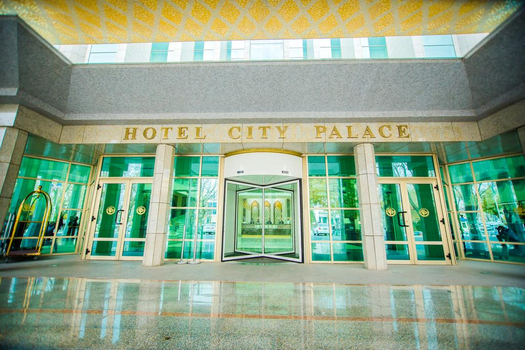 Entrance City Palace Tashkent
