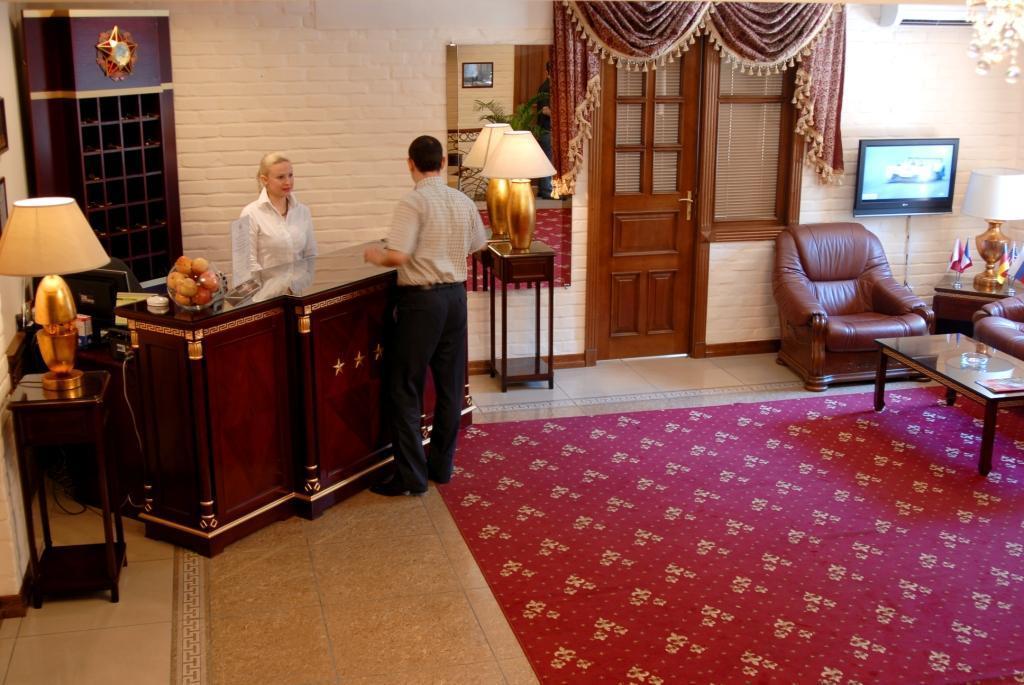 Reception Hotel Bek Tashkent 1