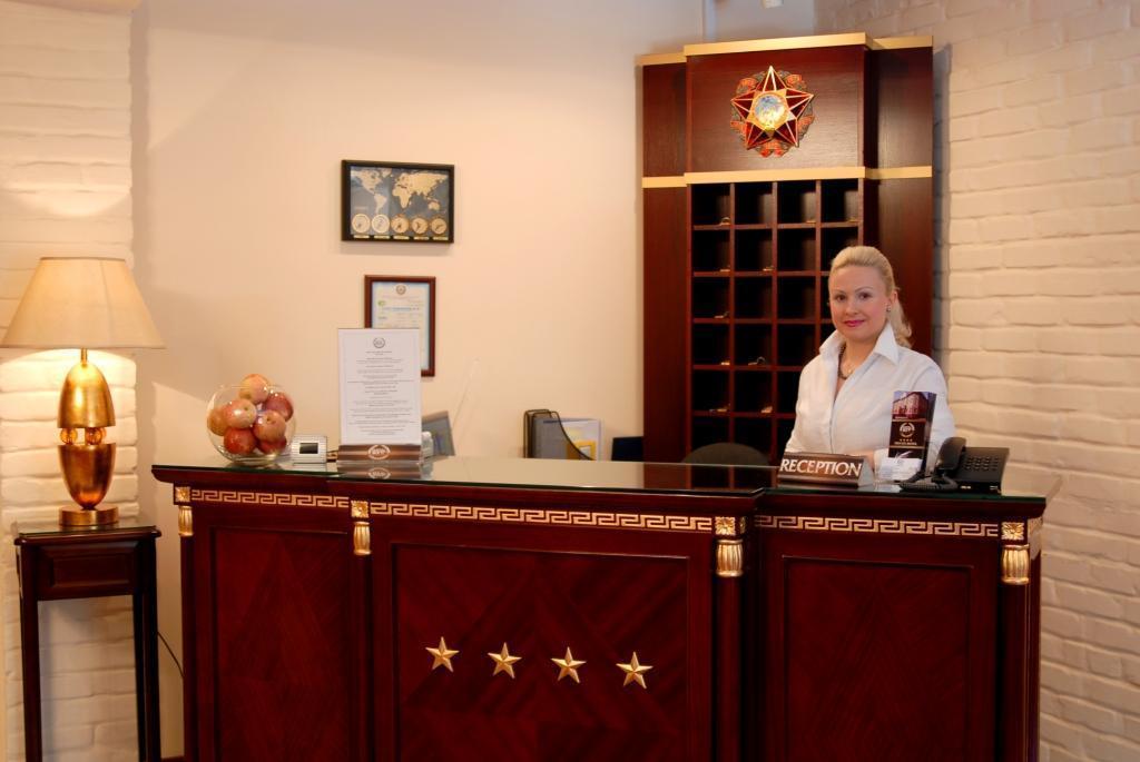 Reception Hotel Bek Tashkent