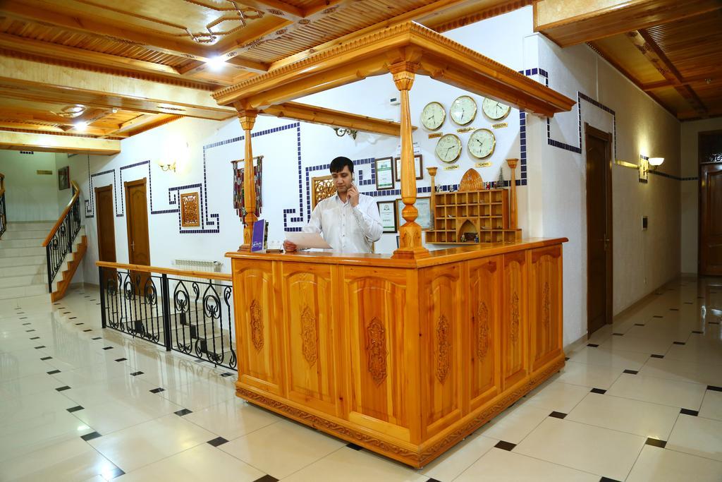 Reception Malika Prime Samarkand 1