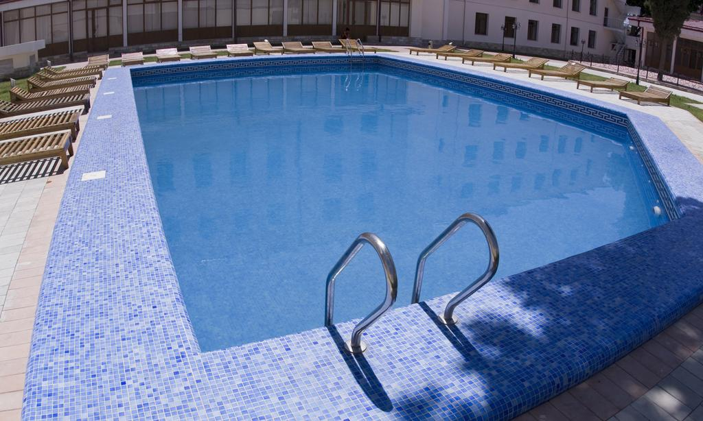 Swimming Pool Registan Samarkand