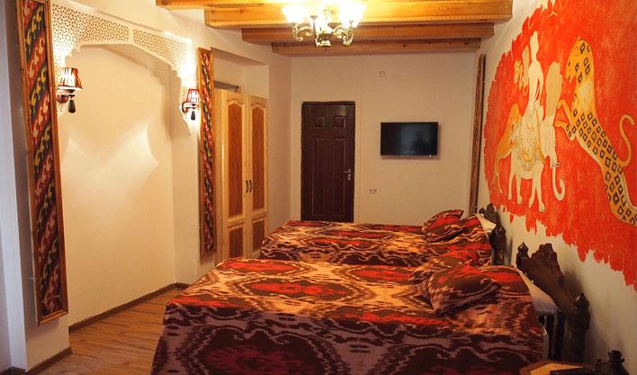 Twin Room Bibi Honim Bukhara 4